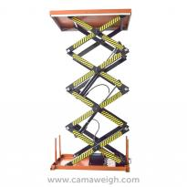 Four Scissor Lift Table