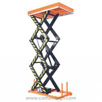 Three Scissor Lift Table