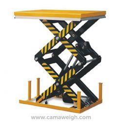 4000Kg Double Scissor Lift Table - Camaweigh.com
