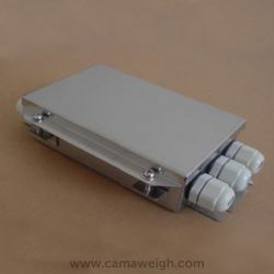 Stainless steel 4 lines Small Junction Box