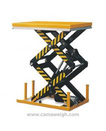 4000Kg Double Scissor Lift Table - Camaweigh.com