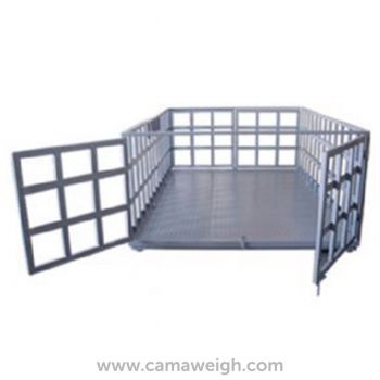 Stainless Steel Livestock Scale - Camaweigh