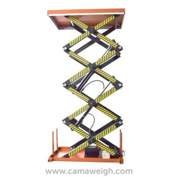 800 kg Four-scissor-lift-table