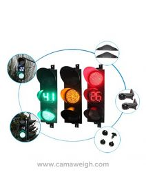 LED Traffic Signal Lights With Timer - Camaweigh