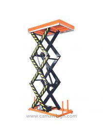 2000 kg Three Scissors Lift Table Online - Camaweigh.com