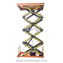 800 kg Four-scissor-lift-table