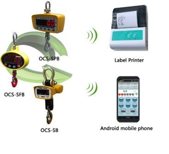 Crane Scale with bluetooth picture and digital display on Sale
