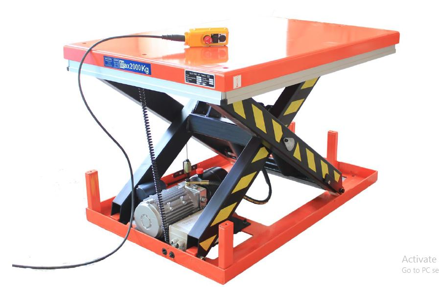 Hydraulic lift table or scissor lifts for heavy objects for sale