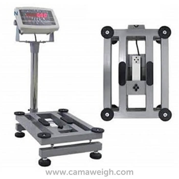 Mild Steel Bench Scale or Platform Scales with indicator, no back rail for sale