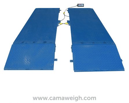 Buy Blue and Black Movable Truck Scale for sale