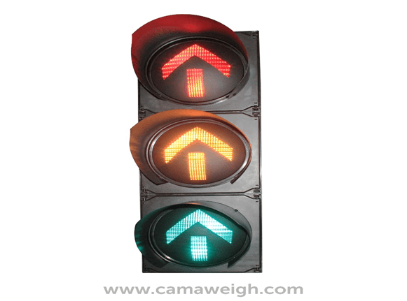 Buy Red, Yellow, and Green Arrows LED Traffic Light on sale